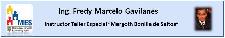 Fredy Marcelo Gavilanes Docente TEP-MIES