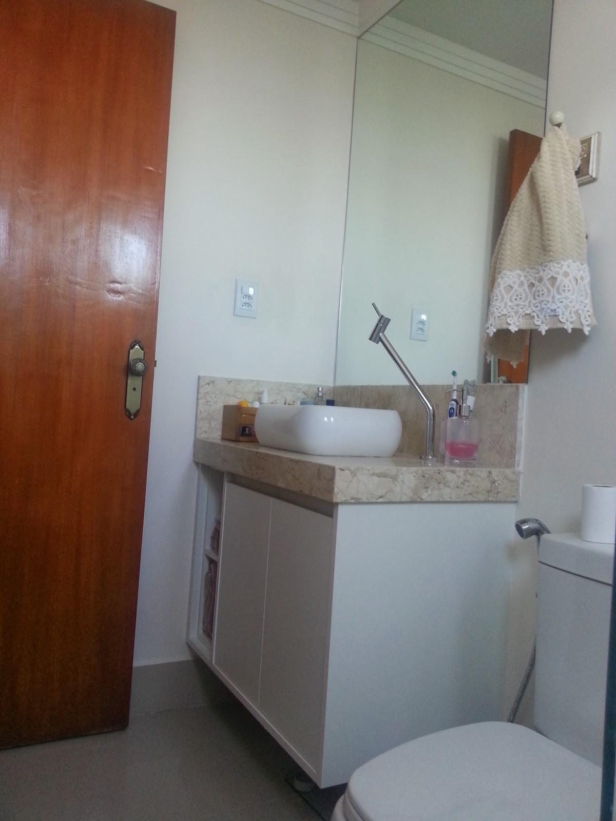 Imagens de #6D3924 Sim senhora mãe!: Apê Pronto: Banheiros 1200x1600 px 3698 Banheiros Prontos Fotos