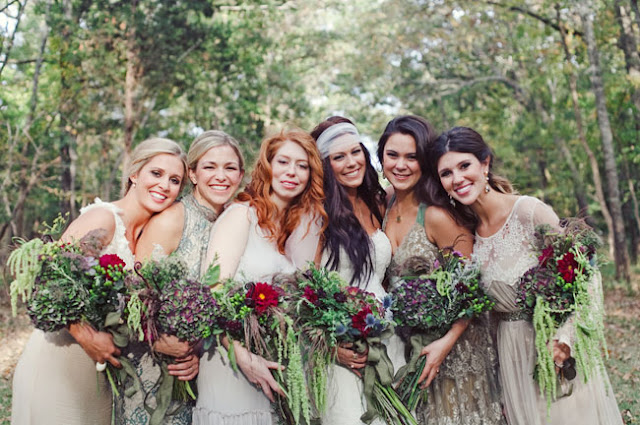 Backyard Bohemian Real Wedding