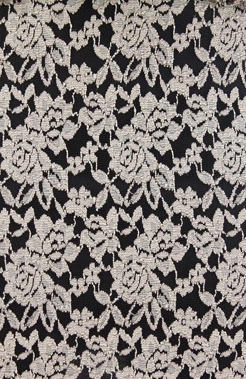 Eternal Lace Peplum Dress