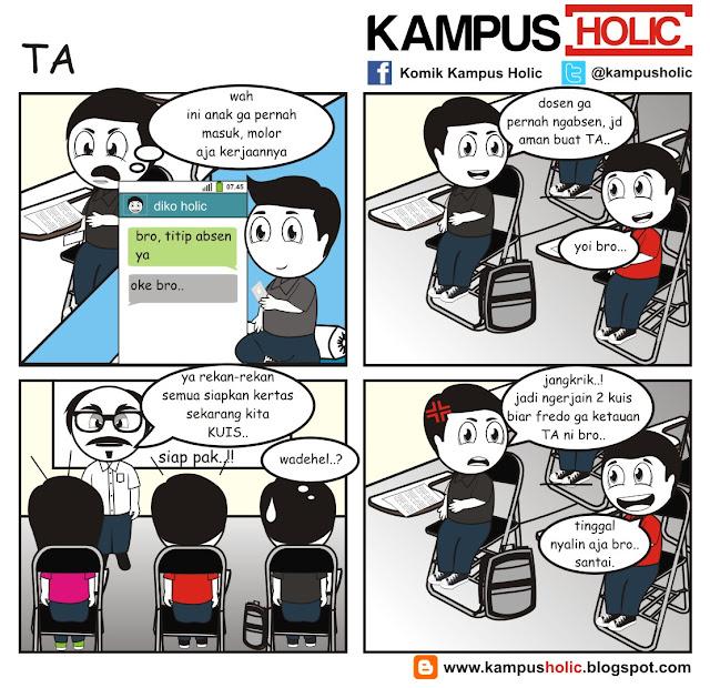 #080 TA titip absen mahasiswa kampus holic