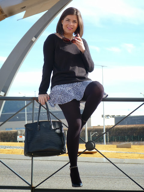 Falda cebra 4