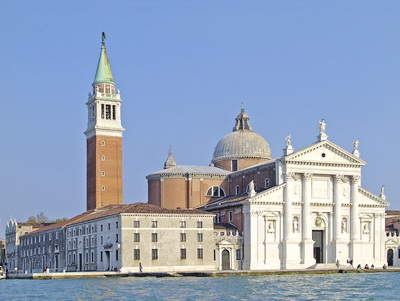 bangunan gereja terkenal Basilica Church of San Giorgio Maggiore Venice