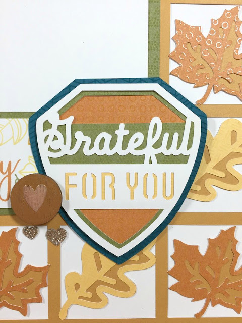 Cricut Artistry Autumn Family layout