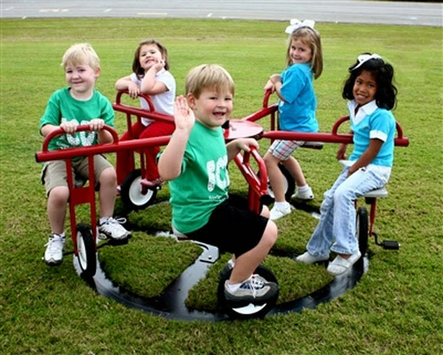5 Seat Merry Go Cycle