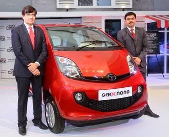 New 2015 Tata Nano Genx Images