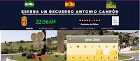 Pagina web de Espera un Recuerdo Antonio Campón