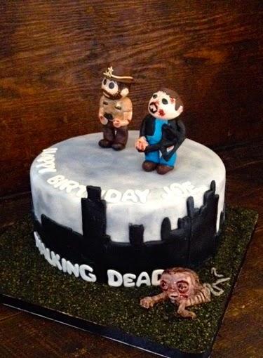 Sweet T S Cake Design Walking Dead Birthday Cake