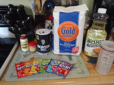 how to make kool aid playdough without cream of tartar