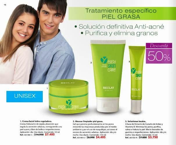 Tratamiento especifico Piel Grasa C1 2015 Chile