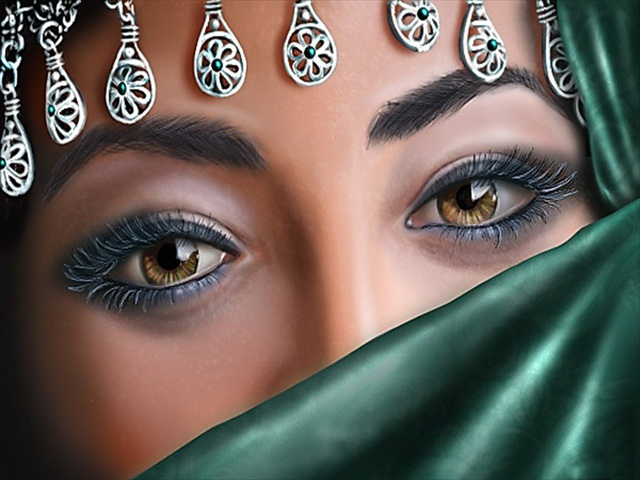 Most Beautiful Arabian Women Eyes Pictures - Fashion ...