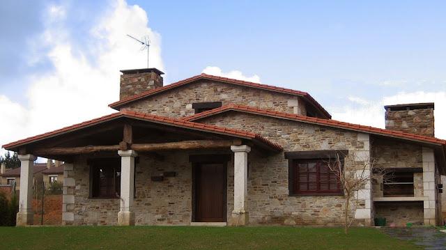 Construcciones r sticas gallegas un caserio - Casas de una planta rusticas ...