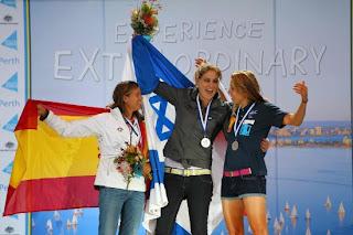 VELA-Alabau inaugura el medallero español en Perth