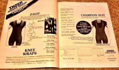 Inzer squat suit ad