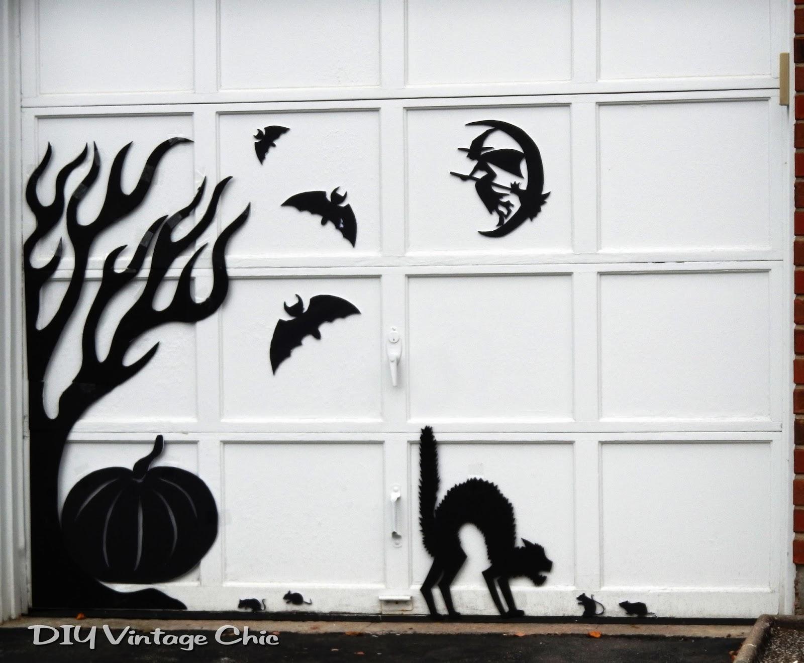 Decorating Ideas > DIY Vintage Chic DIY Spooky Halloween Decor ~ 015650_Halloween Door Magnets