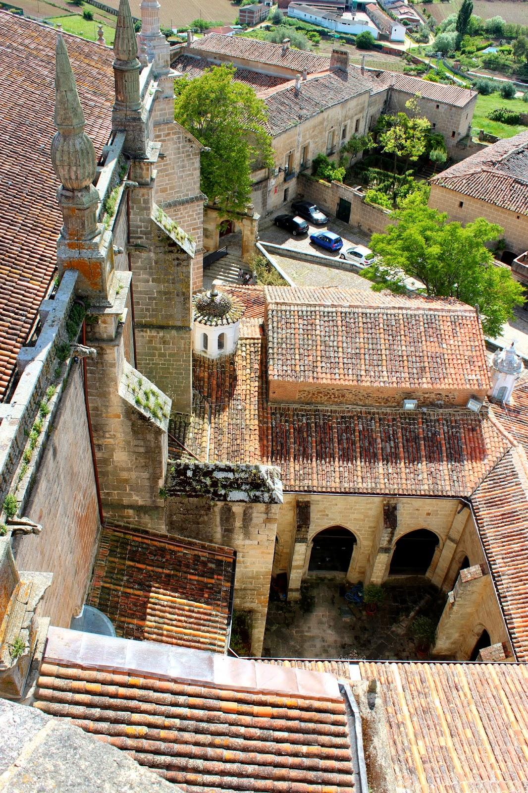 Vistas desde la torre campanario de la catedral de Coria