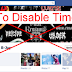 How to Disable Facebook Timeline