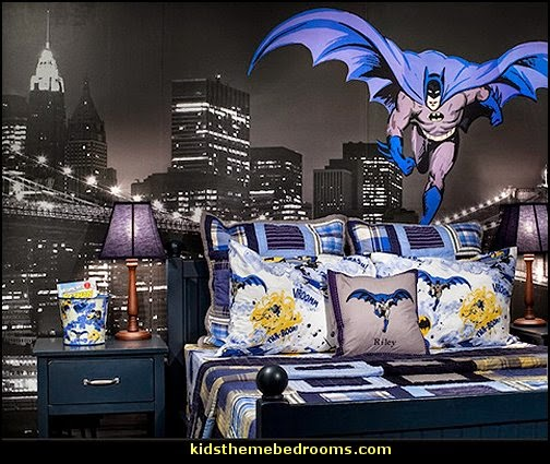 Batman Bedroom Decorating Ideas