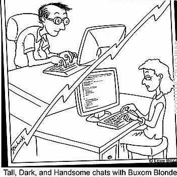 describe myself dating site sample