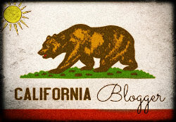 I'm a California Blogger!