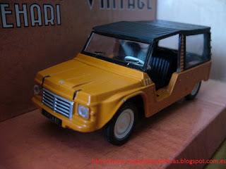 Citroën Mehari die-cast 1/43