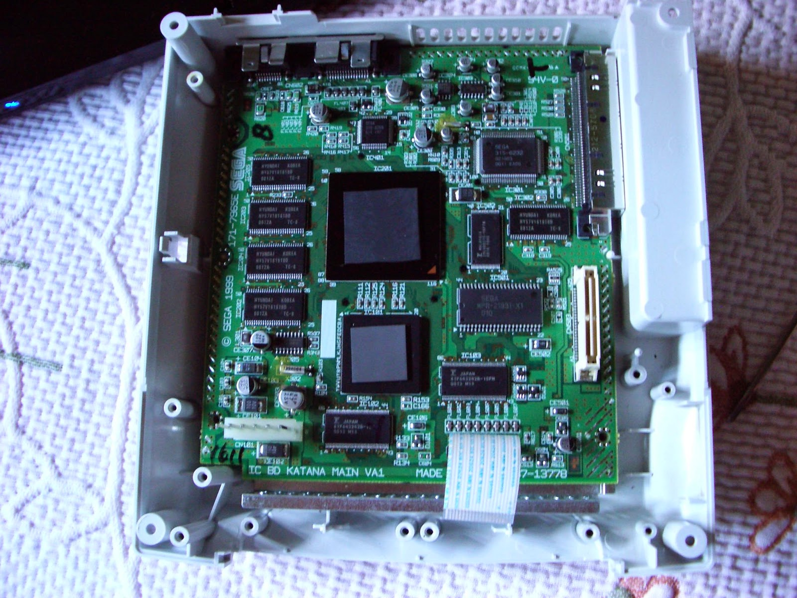 Placa base de dreamcast