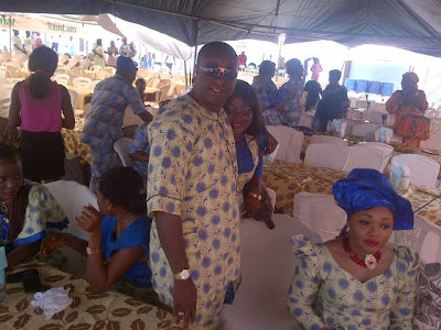 oga bello son wedding pictures