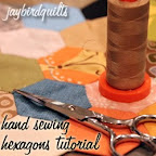 Hand Sewing Hexagon Tutorial