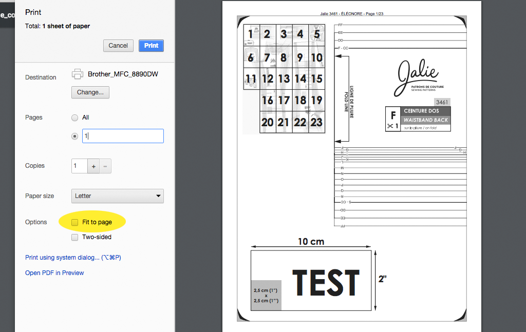 How to Print and Assemble your Jalie PDF Patterns