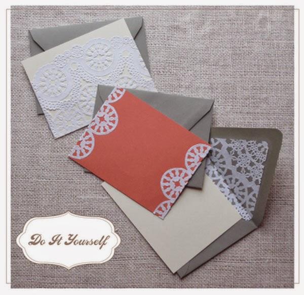 Rase una vez bodas y eventos diy tarjetas con blondas - Blondas de papel ...