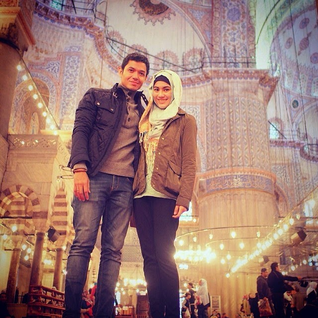 Alyssa Dude Harlino Bula Madu di Turki