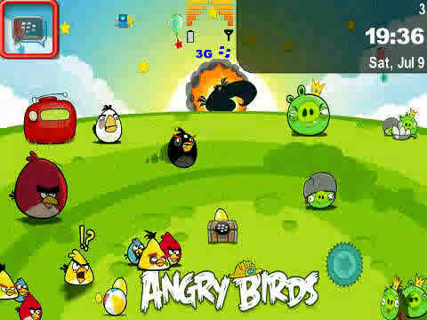 Tema Blackberry, Tema Angry Birds, Tema BB Keren