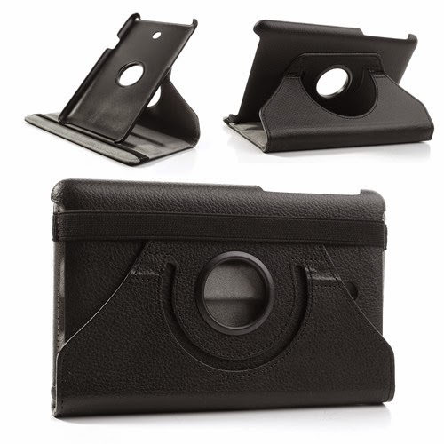 360-Degree-Rotating-Leather-Stand-Case-ASUS-Fonepad-7-ME372CG-Black