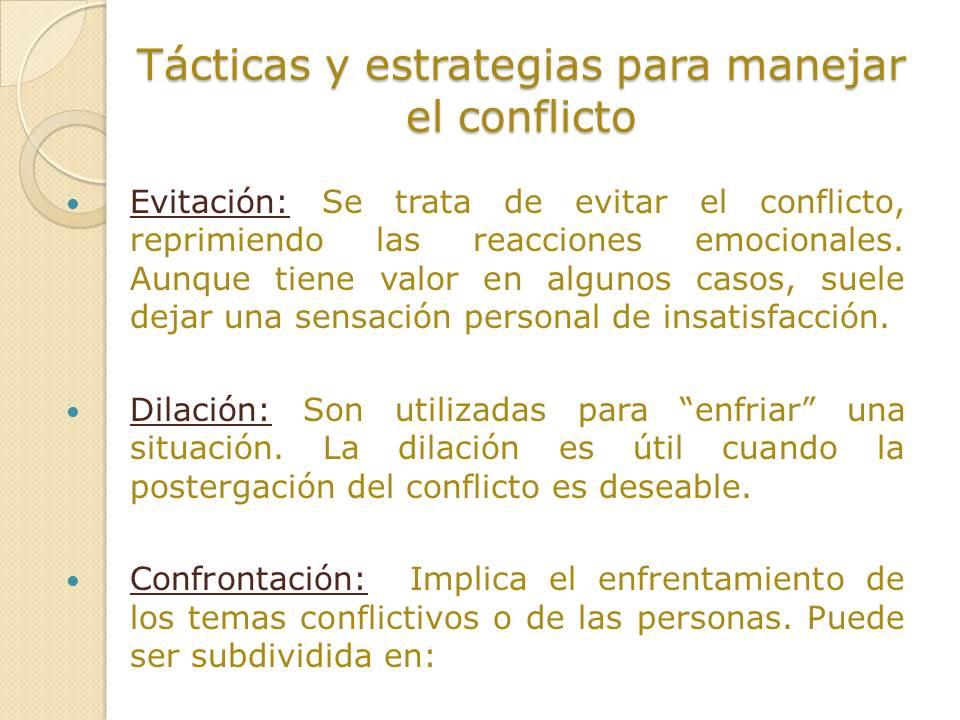 HABILIDADES DE NEGOCIACION DE CONFLICTOS: septiembre 2015