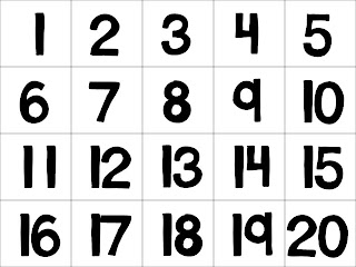 Resource image pertaining to printable number cards 1-20