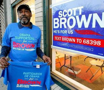 Senator Scott Brown Paid Homeless African Americans