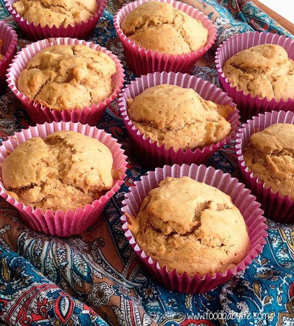 Featured Recipe | Cardamom Pear Muffins from food.baby.life #SecretRecipeClub #recipe #muffins #breakfast
