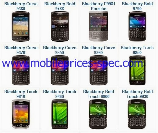 اسعار موبايلات بلاك بيرى BlackBerry Mobiles Price فى الشناوى مصر 2014