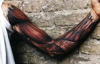 Otot Syaraf Terlihat