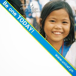 Be a Champion for UNICEF Philippines