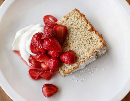 food cake brown sugar angel food cake recipe video martha stewart ...
