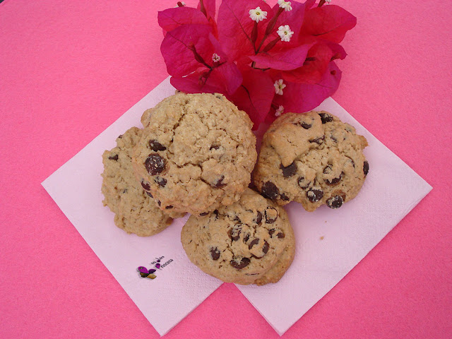 cookies, galletas, chips de chocolate, chocolate,
