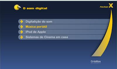 CURSO DE INFORMÁTICA E INTERNET - O SOM DIGITAL