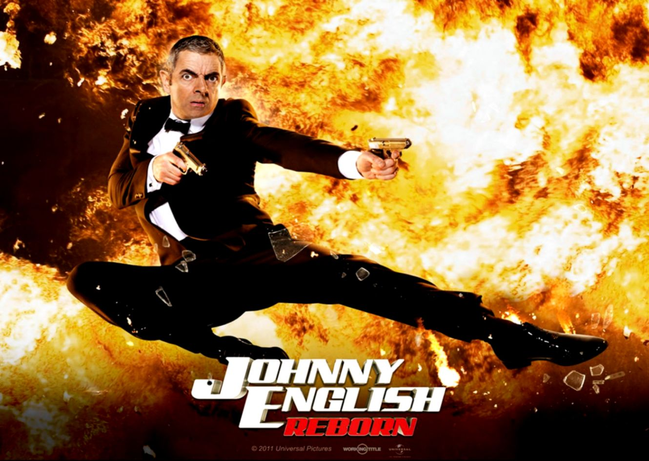 Johnny English Reborn Poster 1400x1050 Wallpapers 1400x1050