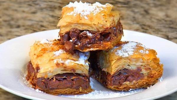 Double Chocolate Baklava