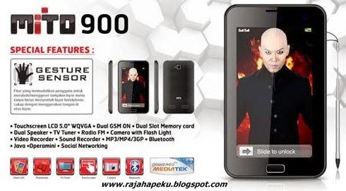 Harga Dan Spesifikasi Mito 900 Terbaru, Teknologi Layar TFT LCD Touchscreen