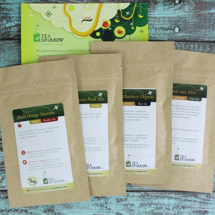 Tea Sparrow subscription box