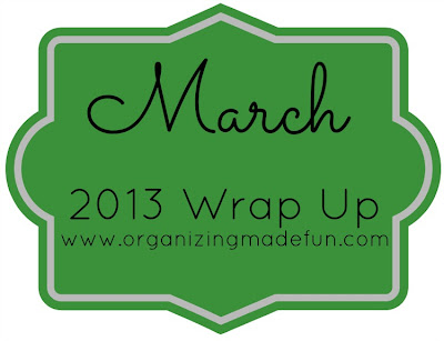 organize month clutter declutter