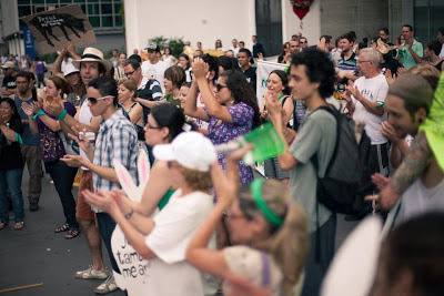 """Parada Veg 2012 - """"A Paz Começa no Prato"""""""