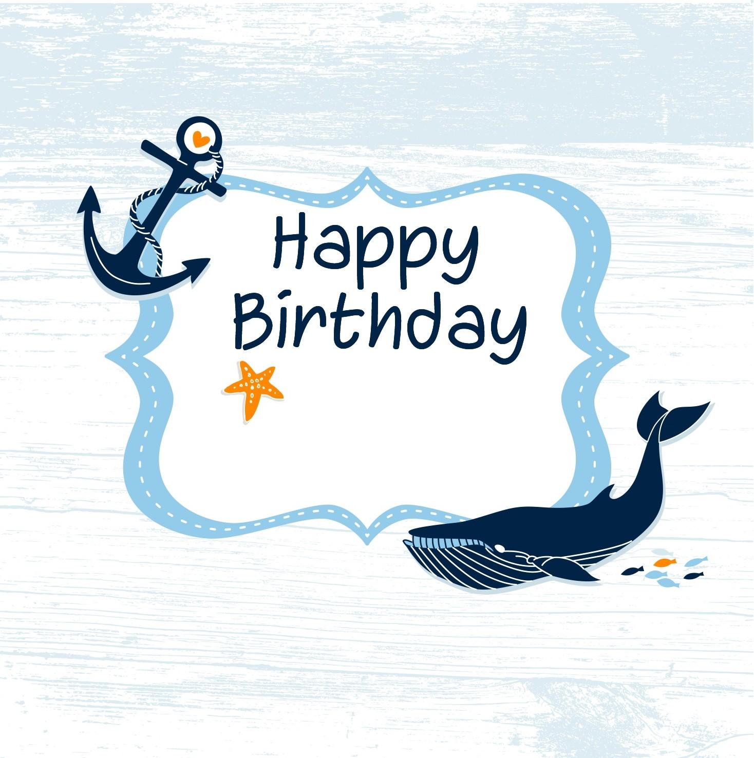 Little Birdie Blessings Free Nautical Printables